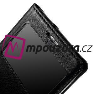 Luxusní pěněženkové puzdro na Samsung Galaxy S3 i9300 - čierné - 7