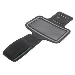 Fittsport puzdro na ruku pre mobil do rozmerov 143.4 x 70,5 x 6,8 mm - black - 7
