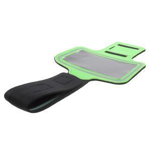 Fittsport puzdro na ruku pre mobil do rozmerov 143.4 x 70,5 x 6,8 mm - zelené - 7