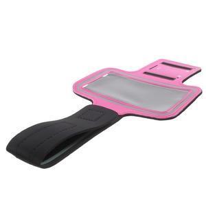 Fittsport pouzdro na ruku pro mobil do rozměrů 143.4 x 70,5 x 6,8 mm - rose - 7