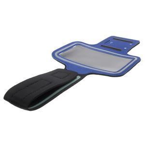 Fittsport puzdro na ruku pre mobil do rozmerov 143.4 x 70,5 x 6,8 mm - modré - 7