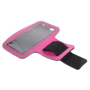 Gym bežecké puzdro na mobil do rozmerov 153.5 x 78.6 x 8.5 mm - rose - 7