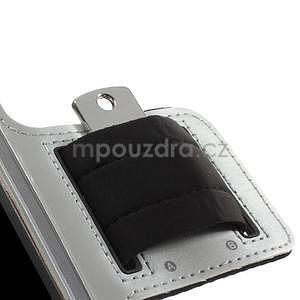 Run bežecké puzdro na mobil do veľkosti 131 x 65 mm - šedé - 7