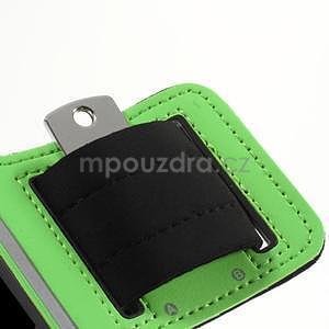 Run bežecké puzdro na mobil do veľkosti 131 x 65 mm -  zelené - 7