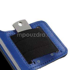 Run bežecké puzdro na mobil do veľkosti 131 x 65 mm - modré - 7