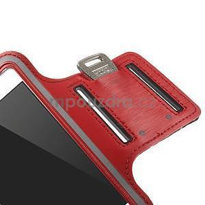 Gymfit športové puzdro pre telefón do 125 x 60 mm - červené - 7
