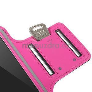 Gymfit športové puzdro pre telefón do 125 x 60 mm - rose - 7
