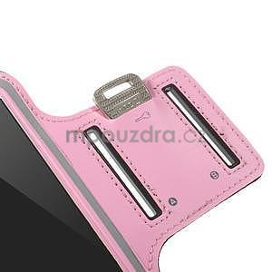 Gymfit športové puzdro pre telefón do 125 x 60 mm - ružové - 7
