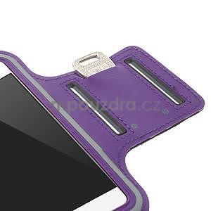 Gymfit športové puzdro pre telefón do 125 x 60 mm - fialové - 7