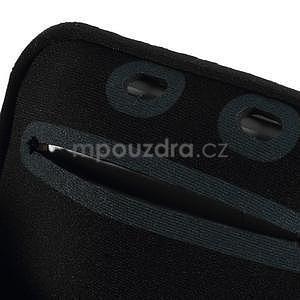 Soft puzdro na mobil vhodné pre telefóny do 160 x 85 mm - biele - 7