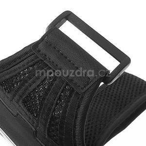 Absorb športové puzdro na telefón do veľkosti 125 x 60 mm - čierne - 7