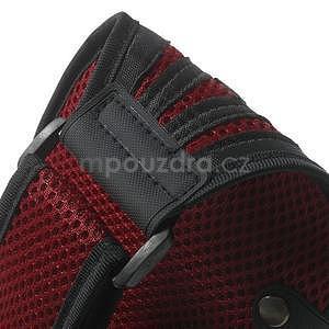 Absorb športové puzdro na telefón do veľkosti 125 x 60 mm -  červené - 7