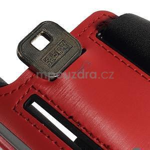Soft puzdro na mobil vhodné pre telefóny do 160 x 85 mm - červené - 7