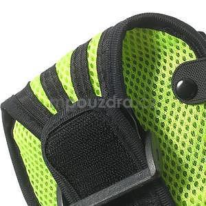 Absorb športové puzdro na telefón do veľkosti 125 x 60 mm -  zelené - 7