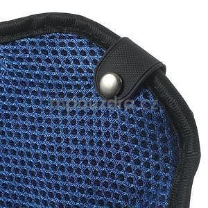 Absorb športové puzdro na telefón do veľkosti 125 x 60 mm -  modré - 7