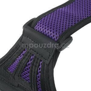 Absorb športové puzdro na telefón do veľkosti 125 x 60 mm -  fialové - 7