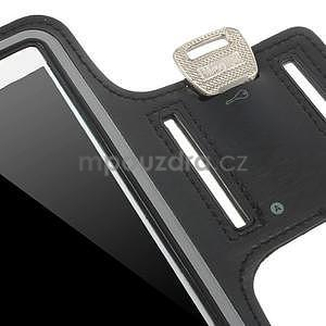 Bežecké puzdro na ruku pre mobil do veľkosti 152 x 80 mm - čierne - 7