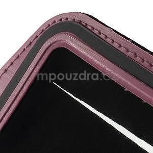 Soft puzdro na mobil vhodné pre telefóny do 160 x 85 mm - ružové - 7