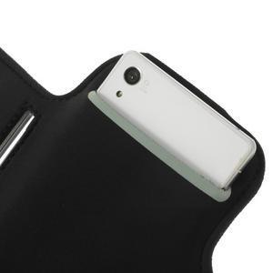 Všestranné puzdro na ruku do rozmeru telefónu 146 x 73 mm - čierne - 7