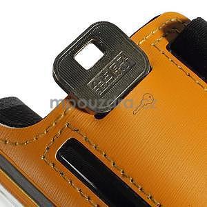 Soft puzdro na mobil vhodné pre telefóny do 160 x 85 mm - žlté - 7