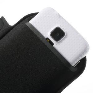 Fit Gym puzdro na ruku pre telefón až do veľkosti 145 x 73 mm - čierne - 7