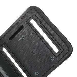 Fitsport puzdro na ruku pre mobil do veľkosti až 145 x 73 mm - čierne - 7
