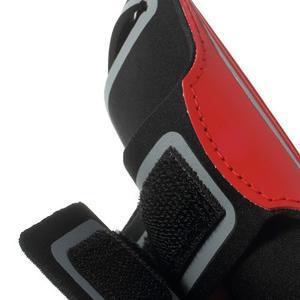 Fitsport puzdro na ruku pre mobil do veľkosti až 145 x 73 mm -  červené - 7