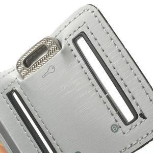 Fitsport puzdro na ruku pre mobil do veľkosti až 145 x 73 mm - šedé - 7