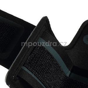 Soft puzdro na mobil vhodné pre telefóny do 160 x 85 mm - svetlomodré - 7