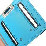Fitsport puzdro na ruku pre mobil do veľkosti až 145 x 73 mm - svetlomodré - 7/7
