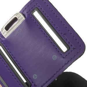 Fitsport puzdro na ruku pre mobil do veľkosti až 145 x 73 mm - fialové - 7