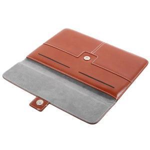 Business univerzální pouzdro na tablet do rozměru 226 x 149 mm - hnědé - 7