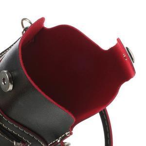 Univerzálne puzdro/kapsička pre mobil do rozmerov 180 x 110 mm - čierne - 7