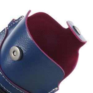 Univerzálne puzdro/kapsička pre mobil do rozmerov 180 x 110 mm - modré - 7