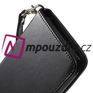 Luxusné univerzálne puzdro pre telefony do 140 x 70 x 12 mm - čierne - 7