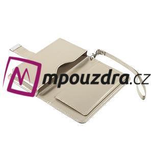Luxusné univerzálne puzdro pre telefony do 140 x 70 x 12 mm - zlaté - 7