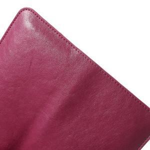 Peňaženkové univerzálne puzdro pre mobil do 140 x 68 x 10 mm - rose - 7