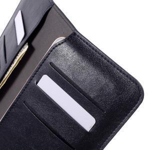 Peněženkové univerzální pouzdro na mobil do 140 x 68 x 10 mm - tmavěmodré - 7