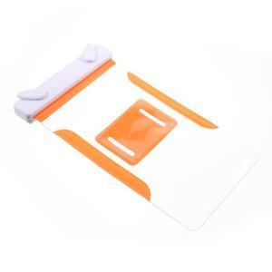 Nox7 vodotesný obal pre mobil do rozmerov 16.5 x 9.5 cm - oranžový - 7