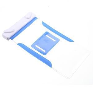 Nox7 vodotesný obal pre mobil do rozmerov 16.5 x 9.5 cm - modrý - 7