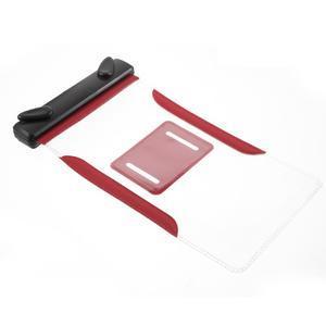 Nox7 vodotesný obal pre mobil do rozmerov 16.5 x 9.5 cm - červený - 7