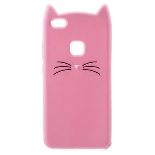 ružová mačička HD foto