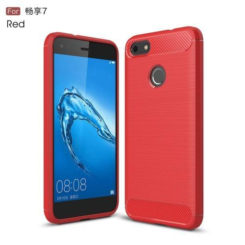 Carbon odolný gelový obal na Huawei P9 Lite mini - červený - Mpuzdra.sk 9e64892be3d