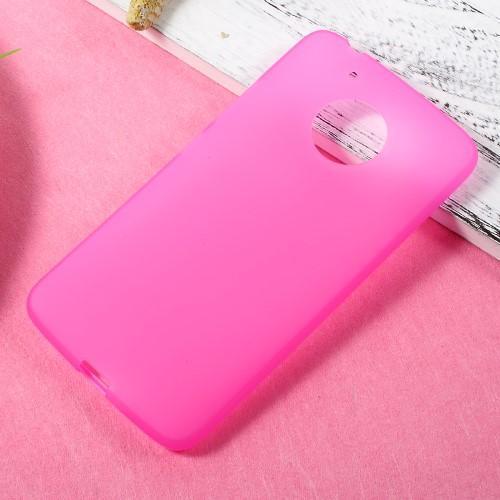 7e48de227 Matný gélový obal pre mobil Lenovo Moto G5 - rose - Mpuzdra.sk