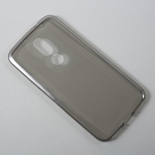5785e5fb2 Ultratenký slim gélový obal pre mobil Lenovo Moto M - šedý - Mpuzdra.sk