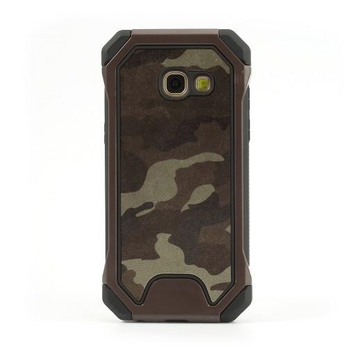 Army 2v1 odolný obal pre mobil Samsung Galaxy A3 (2017) - hnedý lem ... 4d40e62cd98