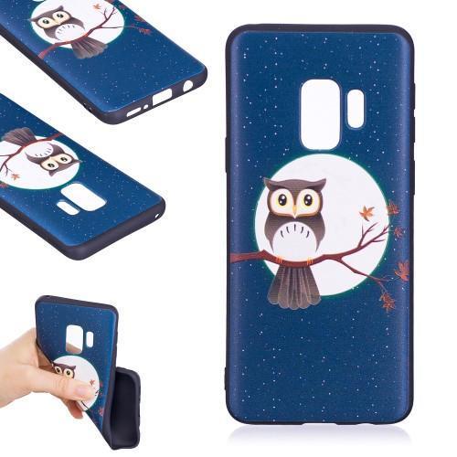 Bossi gélový obal s motívom na Samsung Galaxy S9 - sova na vetve ... fcea58c4f41