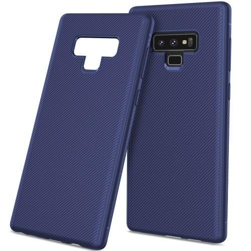 aaf8a0432 Texture silikónový obal na mobil Samsung Galaxy Note 9 - modrý - 1