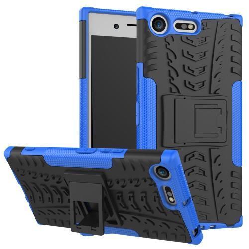 Outdoor odolný obal na mobil Sony Xperia XZ Premium - modrý - Mpuzdra.sk 29c47c4e1f6