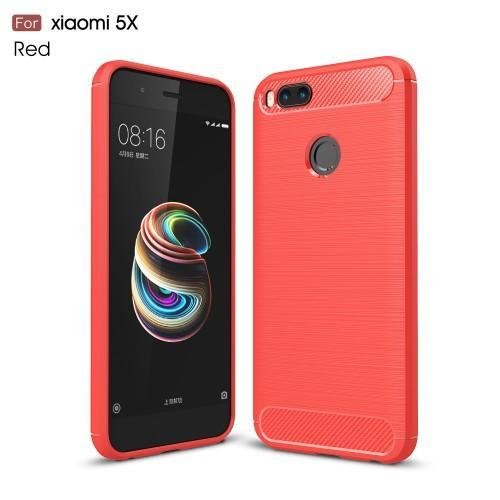 Carbo odolný obal na mobil Xiaomi Mi A1 červené Mpuzdra sk 308dd84eda6